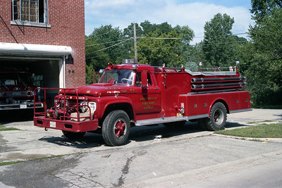 ENGINE 154  FORD F - ALEXIS