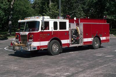 WEST CHICAGO FPD  ENGINE 811