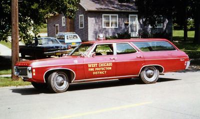 WEST CHICAGO  CAR 13  CHEVY IMPALA WAGON