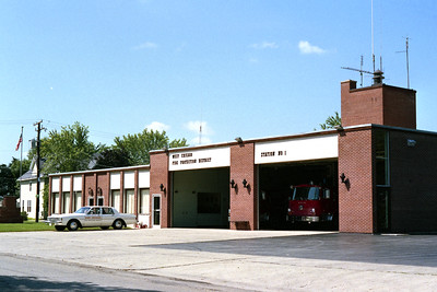 WEST CHICAGO FPD STATION 1 BEFORE ADDITION