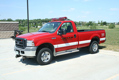 WEST CHICAGO FPD  UTILITY 5   2007 FORD F-250 4X4 BF