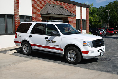 WEST CHICAGO FPD DEPUTY CHIEF CAR 6  2010 FORD EXPEDITION BF