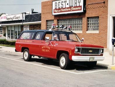WHEATON   CAR 402  CHEVY SUBURBAN