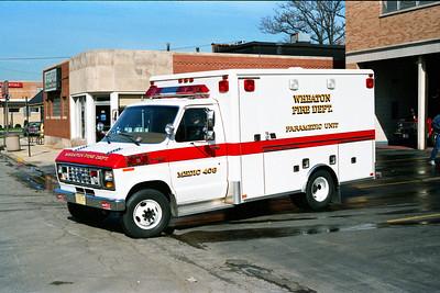 WHEATON  MEDIC 408  FORD E350 -