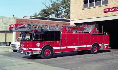 WHEATON TRUCK 412  SEAGRAVE - RPI  100'