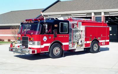 WHEATON  ENGINE 401  PIERCE DASH