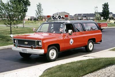 WHEATON   CAR   CHEVY SUBURBAN