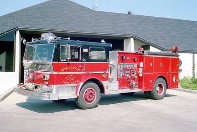 WHEATON ENGINE 412  WLF