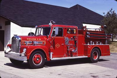 WHEATON ENGINE 409  1960 WLF  750-0   RON HEAL PHOTO