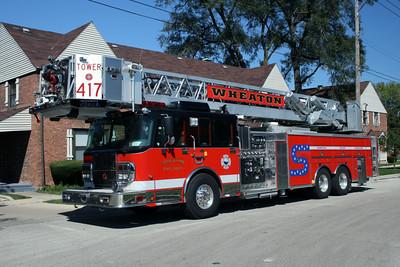 WHEATON TOWER 417  SPARTAN - CRIMSON
