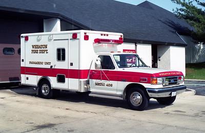 WHEATON MEDIC 408