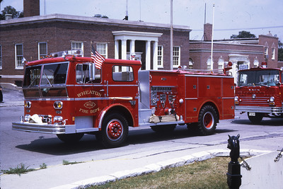 WHEATON  ENGINE 412  1971 WLF  1000-700  RON HEAL PHOTO
