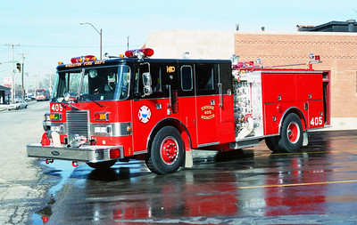 WHEATON  ENGINE 405  PIERCE LANCE