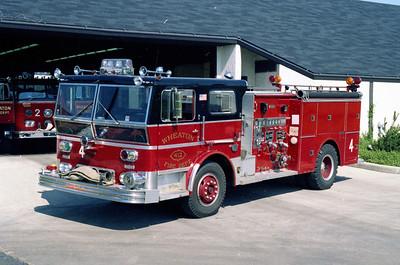 WHEATON  ENGINE 4  1970 WLF P80   1000-500