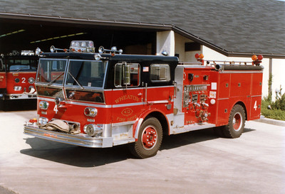 WHEATON   ENGINE 412  WARD LA FRANCE P80