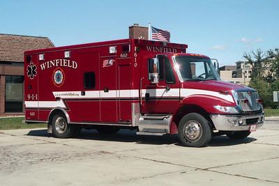 WINFIELD FPD  AMBULANCE 610
