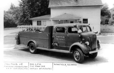 WINFIELD ENGINE 1  1941 FORD - MARMON HARRINGTON 4X4  - DARLEY