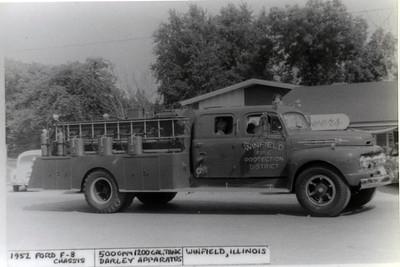 WINFIELD FD  ENGINE 1952 FORD F - DARLEY