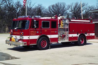 WINFIELD FPD  ENGINE 631 PIERCE ARROW  BF