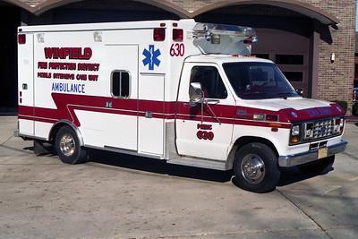 WINFIELD FPD  AMBULANCE 630  FORD E350-  BF