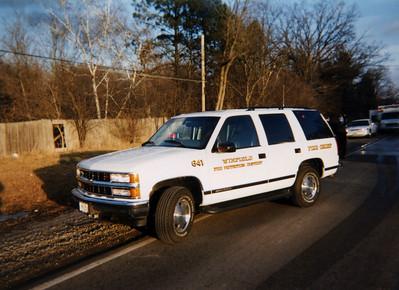 WINFIELD FD  CAR 641 CHEVY