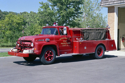 WOOD DALE FPD  TANKER RED