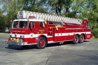 WOOD DALE FPD  TRUCK 1225  REHABBED