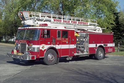 WOOD DALE FPD  ENGINE 1222  PIERCE LANCE
