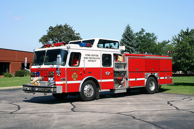 YORK CENTER ENGINE 75    E-ONE