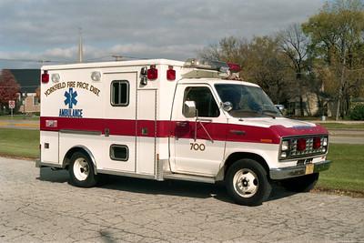 YORKFIELD FPD  AMBULANCE 700