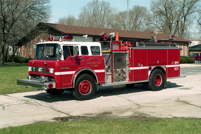 YORKFIELD FPD  ENGINE 803 FORD C - E-ONE