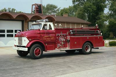 YORKFIELD FPD  ENGINE 703  GMC - DARLEY