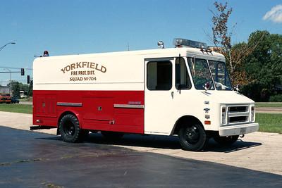 YORKFIELD FPD  SQUAD 704