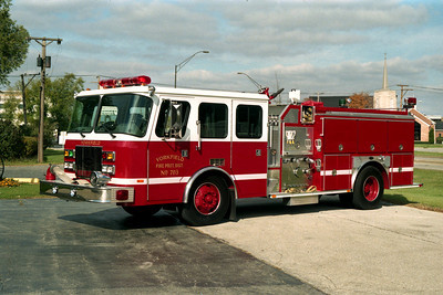 YORKFIELD FPD  ENGINE 701  E-ONE