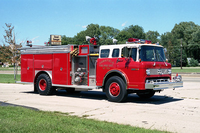 YORKFIELD FPD  ENGINE 701 FORD C - E-ONE