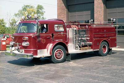 AURORA FD  ENGINE 33  1968  ALF 900   1250-500
