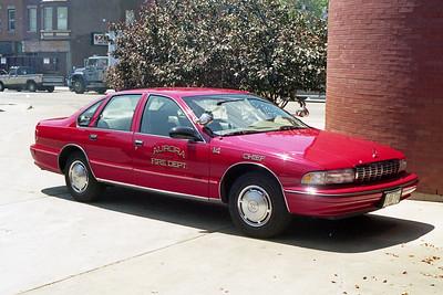 AURORA FD  CAR 14  1993  CHEVY CAPRICE