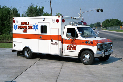 AURORA FD  MEDIC 3  1983  FORD E350 - McCOY MILLER