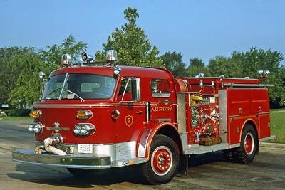 AURORA FD  ENGINE 7  1971  ALF   1000-500
