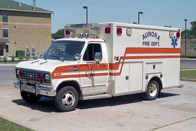 AURORA FD  MEDIC 1  1995  FORD E350 - McCOY MILLER