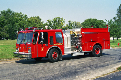 AURORA FD  ENGINE 7  1985  E-ONE HURRICANE   1250-500   #4231