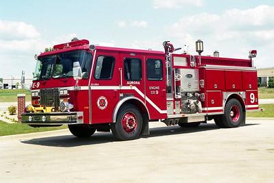 AURORA FD  ENGINE 9  2000  E-ONE CYCLONE II   1500-750-50F   #22758