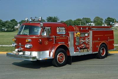 AURORA FD  ENGINE 4  1964 ALF   1000-500