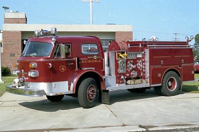 AURORA FD  ENGINE 4  1971  ALF   1250-500   #12-1-2766