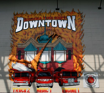 AURORA FD   STATION 1   WALL PAINTING