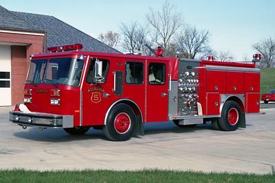AURORA FD  ENGINE 5  1990  E-ONE PROTECTOR   1250-750   #7795