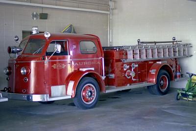 AURORA FD  ENGINE 31  1950  ALF 7000   1000-500