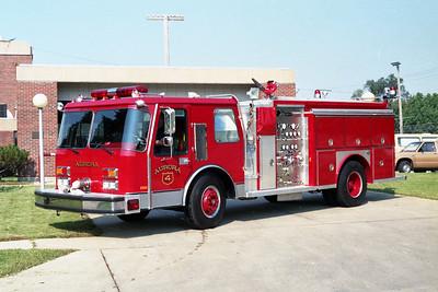 AURORA FD  ENGINE 4  1986  E-ONE HURRICANE   1250-750   #4749