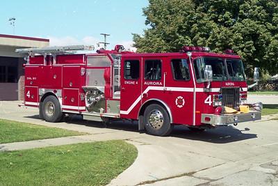 AURORA FD  ENGINE 4  2000  E-ONE CYCLONE II   1500-750-50F   #22757