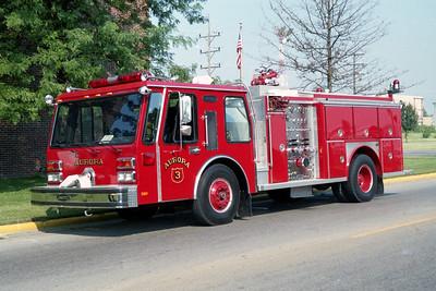 AURORA FD  ENGINE 3  1984  E-0NE HURRICANE   1250-750    #3586